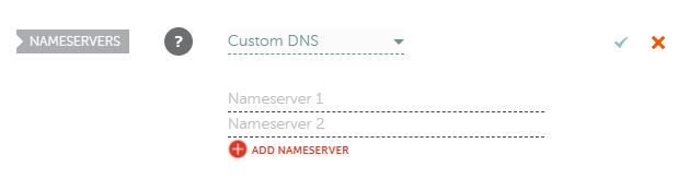 changing your namservers in your Namecheap account
