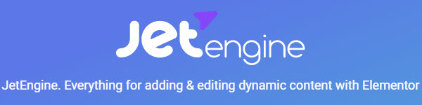 Jet Engine by Crockoblock- elementor addon for adding dynamic content