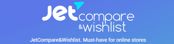 Jet Compare Wishlist - must have for online stores