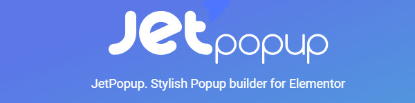 Jet popup by Crockoblock- stylish popup builder for Elementor