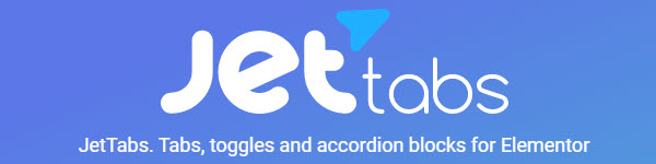 Jet tabs- tabs , toggles, and accordion blocks for Elementor