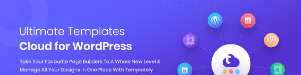 Templately- ultimate template cloud for your favorite WordPress page builders
