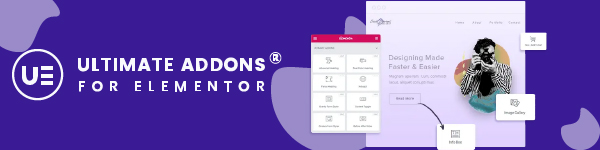 Ultimate addons- compete Elementor toolkit