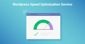 Speed up your with a website with our Wordpress speed optimization service