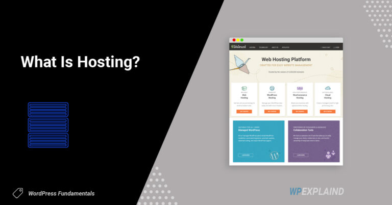 what is hosting | where to purchase it