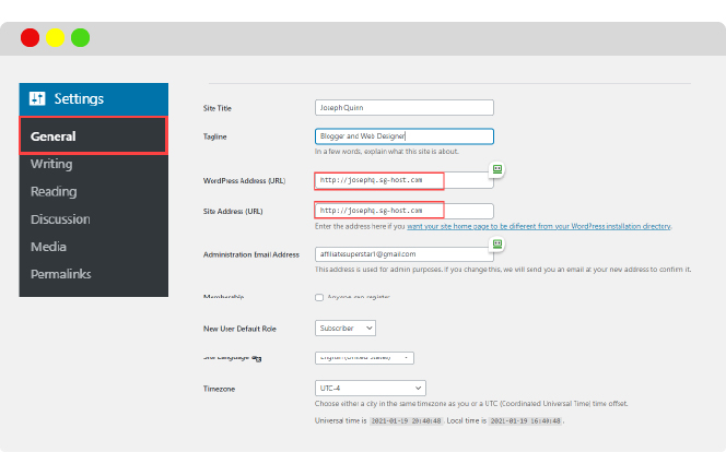 change your site address from http to https in WordPress general settings